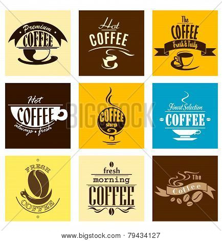Hot, Fresh, Morning Coffee Banners