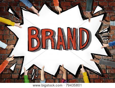Brand Marketing Branding Copyright Identity Trademark Patent Concept