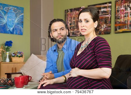 Couple Anxious About Pregnancy