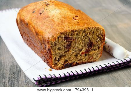 Flax Cranberry Bread