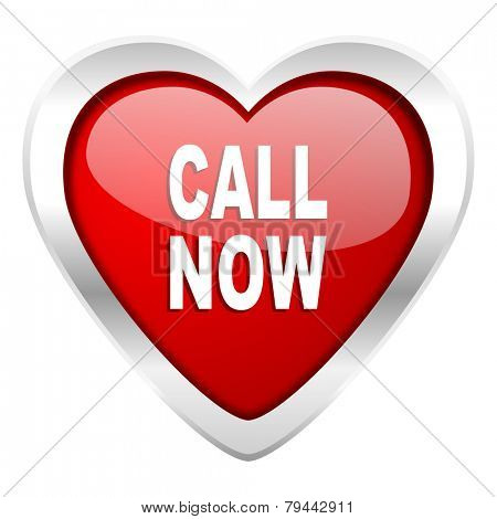 call now valentine icon