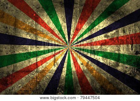 Multicolor Sunbeams background