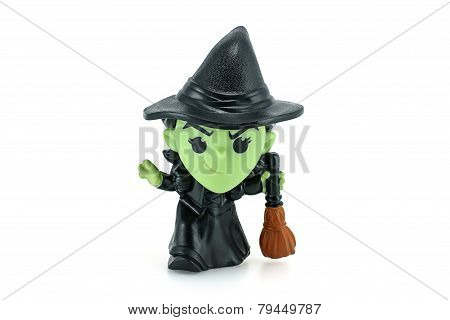 Wicked Witch Of The West Action Figure From Wizard Of Oz Movie.