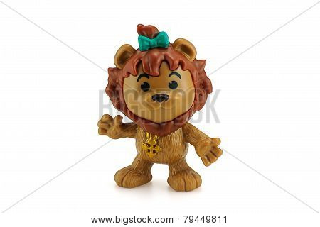 Cowardly Lion Action Figure From Wizard Of Oz Movie.
