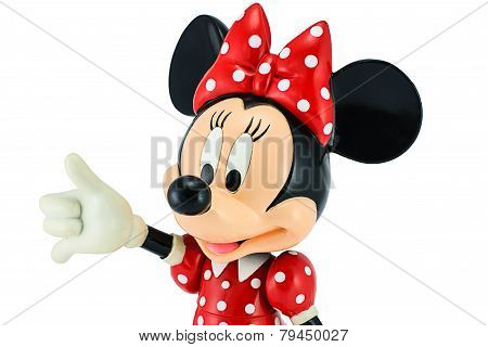 Minnie mouse from Disney character