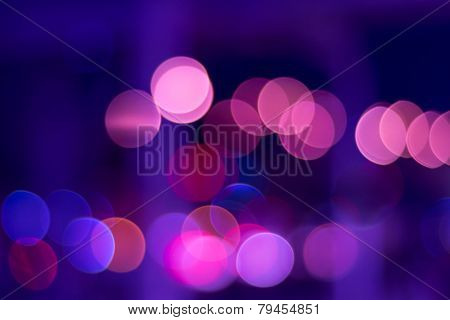 Color Lights Bokeh