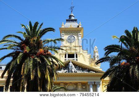 Malaga Town Hall.