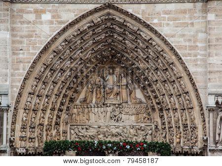 Notre-Dame Cathedral Facade