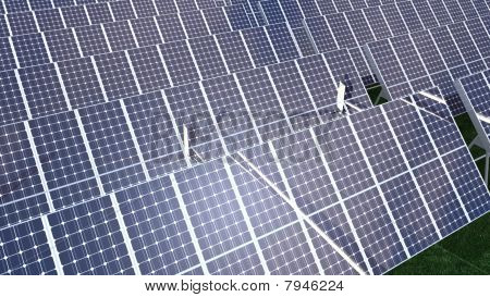 Animation Presenting Various Solar Panel
