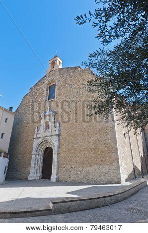 Saint Pierre Church At Ceret, France