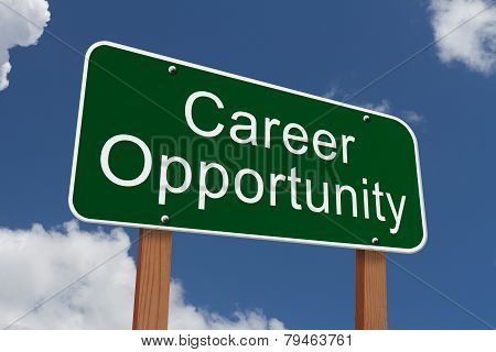 Career Opportunity Sign