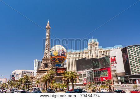 Paris Las Vegas Hotel And Casino In Las Vegas, Nevada