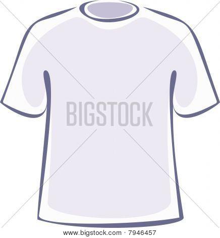 Blank T-Shirt (Vector)