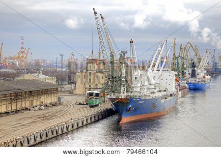 Port Of City Saint Petersburg