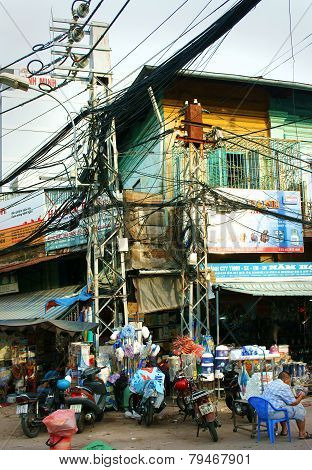 Chemical Store, Kim Bien Market