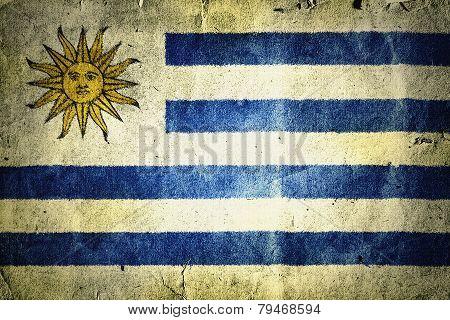 Flag Of Urugua