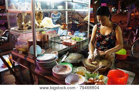 Vietnamese Food, Duck Porridge