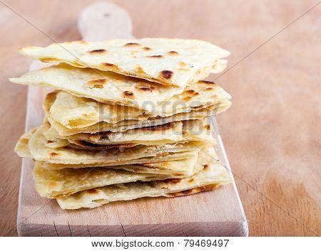 Slices Of Flatbread