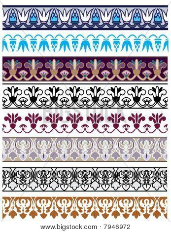 Traditional Architectural Borders Set