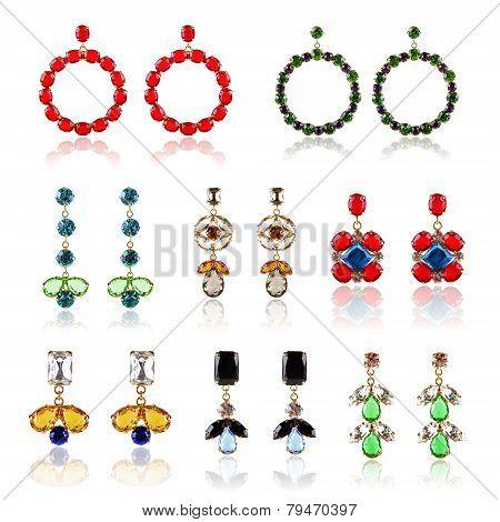 Collection Of Luxury Diamond Earrings