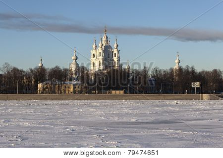 Smolny Cathedral. St. Petersburg.
