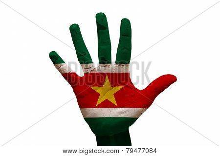 Palm Flag Suriname