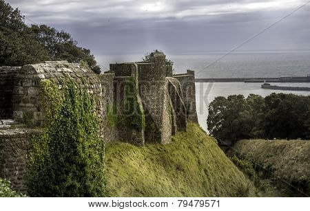 Walls Of Dover Castle