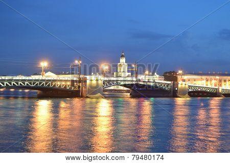 Palace Bridge At Dawn