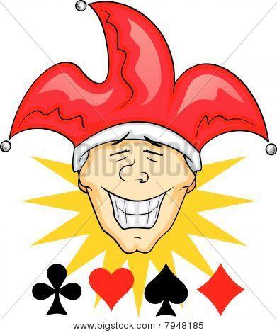 Vector Joker Illustration