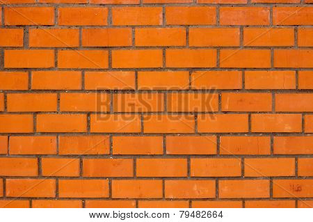 External brick wall