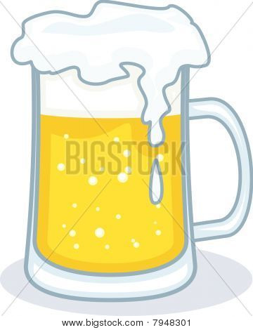 Beer Vector Illustration