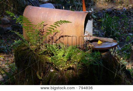 Caixa de correio jardim 1