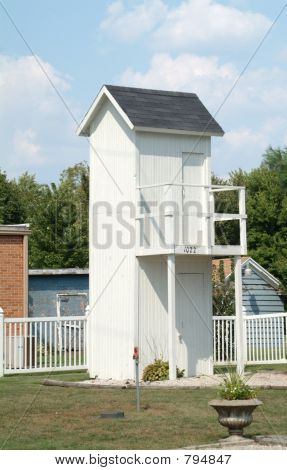 2 Story Outhouse