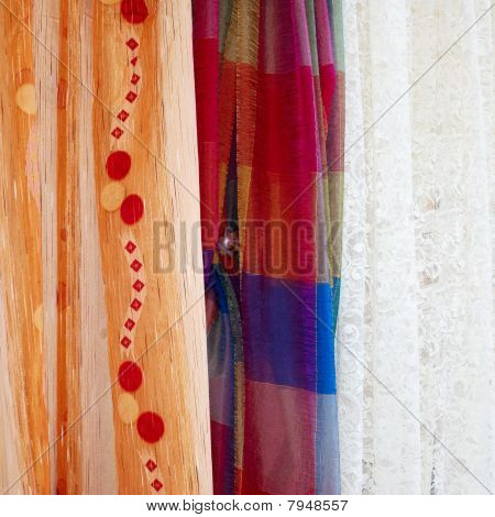 Three Different Curtains