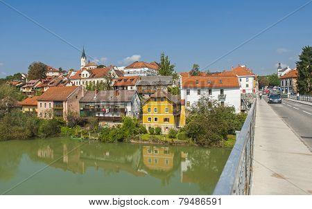 Novo mesto city, Slovenia