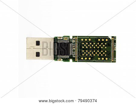 Control Board Chip Of Usb Flash Drive