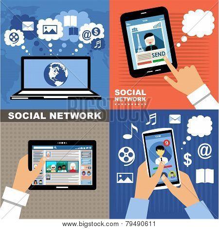 Social Networks. Internet Communication.