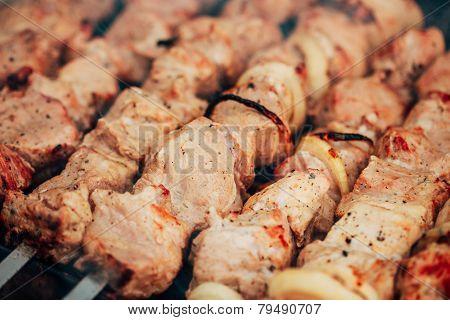 grilled caucasus barbecue