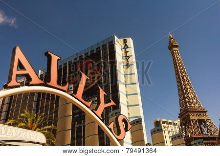 Paris Landmark In Las Vegas