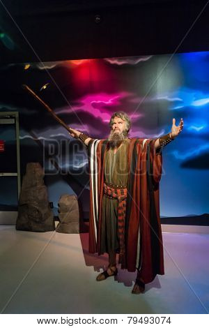 Moses Wax Figure