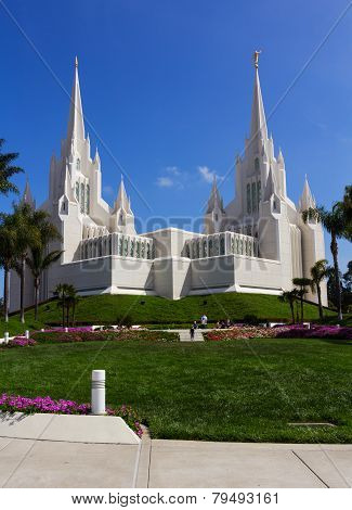 Temple In San Diego