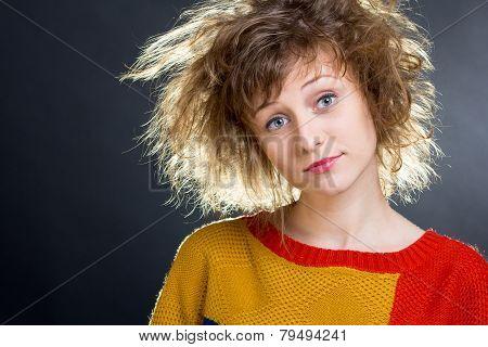 Rumpled Hair