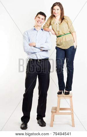 Woman At Height