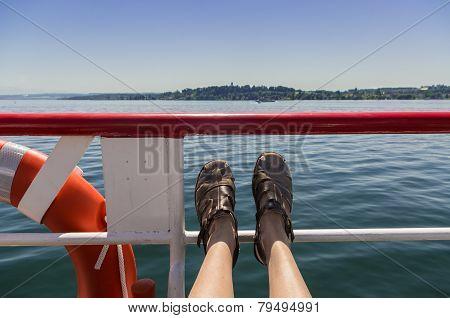 Boat passanger