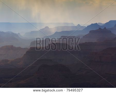 Grand Canyon's Silhouettes