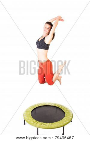 Fitness On Trampoline