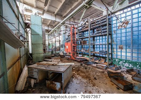 Factory In Pripyat
