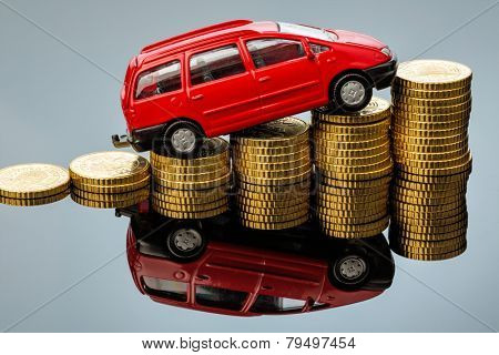 in a car you have rising costs through fuel, insurance, parking fees and tolls.