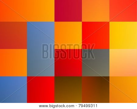 Abstract Colored Patchwork