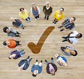 stock photo of diversity  - Diverse Diversity Ethnic Ethnicity Variation Unity Team Concept - JPG